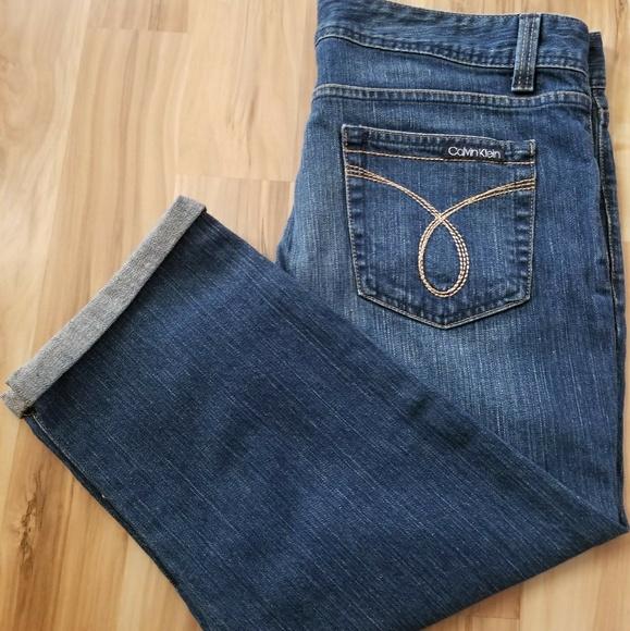 Calvin Klein Jeans Denim - 🌸NWT.. Calvin Klein Cropped Jean🌸
